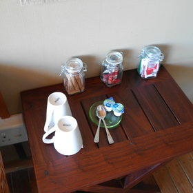 Each room has tea and coffee making facilities and hot water is provided on request.
