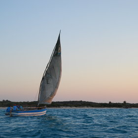 Another peaceful and relaxing experience at Azura, is their magical sunset dhow trip.