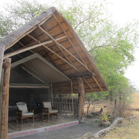 Accommodation at The Hide consists of ten A-frame chalets,