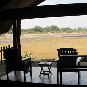 There is also a very spacious veranda offering comfortable seats and a view.