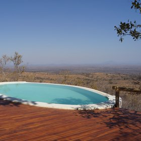 Ikuka Safari Camp commands spectacular views over Ruaha...