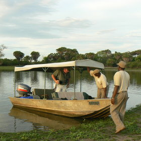 ...boat safaris and fishing trips for catfish and tigerfish…
