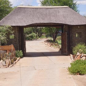 The lodge is set in one of Tanzania's most popular safari areas.