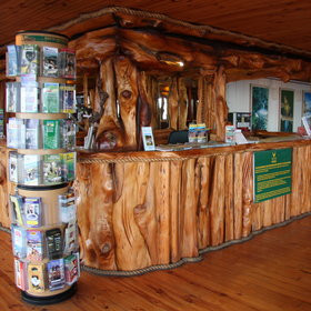 Basic commodities can be purchased at Storms River's souvenir shop.
