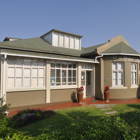 Brigadoon is located in a quiet residential area of Swakopmund.