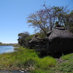 Camp Kwando is situated on the banks of the Kwando River...