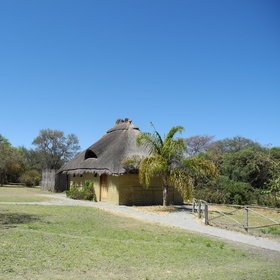 There are two room types at Camp Kwando - the standard chalets...