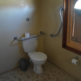 ...and toilet.