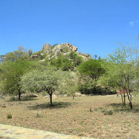 ...dotted around a classic Serengeti landscape of kopjes (hills of rounded boulders).