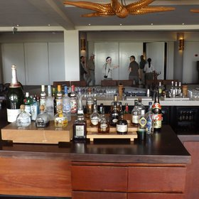 The Maji Bar serves a great variety of spirits and a wide range of cocktails...