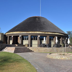 Sun Karros Daan Viljoen is located in the Daan Viljoen Game Park.