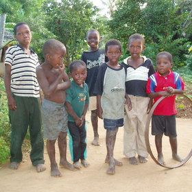 The owners of Chole Mjini promote community projects, for example a kindergarten.