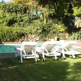 ...or relaxing on sun loungers...