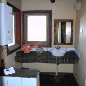Each en-suite bathroom has a shower, a washbasin and a separate toilet.
