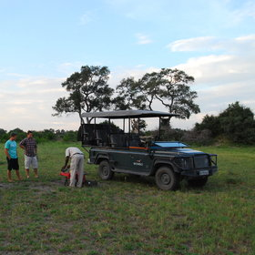 Activities mainly focus on daytime 4WD game drives…