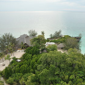 Chumbe Island is a tiny coral island about six miles by boat from Zanzibar Town.