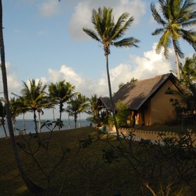 Kinasi Lodge is situated directly on the beach of Mafia Island.