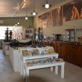 and curio shop - all the proceeds of which go to AfriCat.