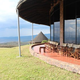 View map of Ngorongoro Sopa Lodge