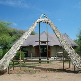 Taranga Safari Loge is one of the few lodges in the Rundu area.