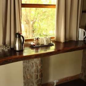 All rooms are provided with fresh drinking water as well as tea and coffee...