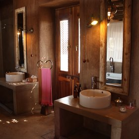 en suite bathroom...