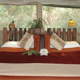 Kicheche Laikipia is Ol Pejeta Conservancy's most stylish tented camp.