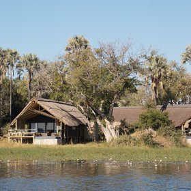 The newly refurbished Eagle Island Camp offers a luxurious safari experience...