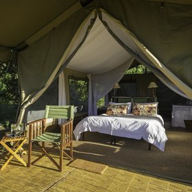 John's Camp is the newest property in Zimbabwe's Mana Pools National Park.