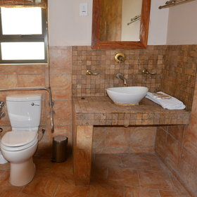 ...and en-suite bathrooms.