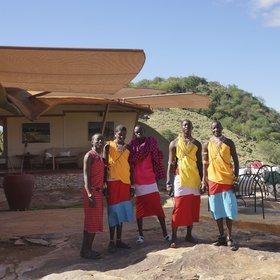 At Saruni Samburu, you're looked after by experienced staff from the local Samburu community.