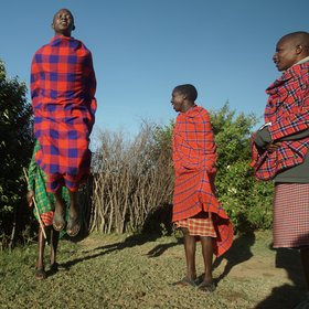 Topi House is close to the traditional Maasai community.