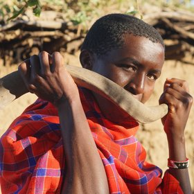 …you can pay a visit to the local Maasai community…
