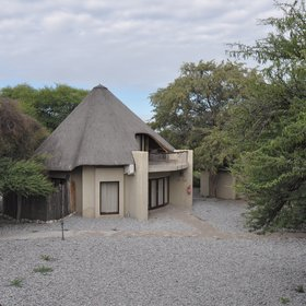 There are different types of accommodation: from Waterhole chalets...
