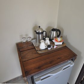 ...a fridge, and tea and coffee making facilities.