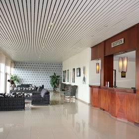 With smart interiors the hotel attracts a distinctly business clientele but also tourists of Kigali
