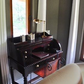 ...and a lovely writing desk...