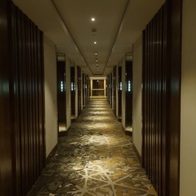 And while there's nothing outstanding about them – rooms off carpeted corridors –