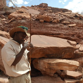 Twyfelfontein is only a short journey away from Mowani...