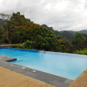 The infinity pool will be a great place to relax...