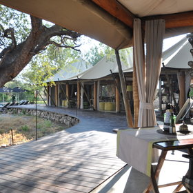 Here are some pictures taken by the Expert Africa team of Onguma Tented Camp.