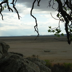 ...some of which have spectacular views of the waterhole.