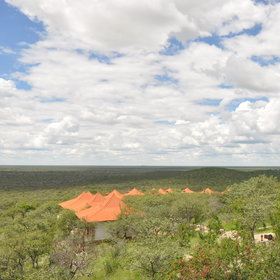 Etosha Safari lodge has 65 chalets...
