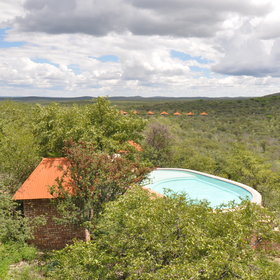 There are three pools at Etosha Safari Lodge meaning your never far from a dip.