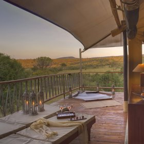 Mara Bushtops has uninterrupted views over Siana Group Ranch (photo ©Bushtops)