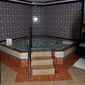 ...and a Moroccan-style spa.