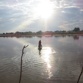 Chikoko is reached by a short canoe ride, followed by a guided walk through the bush to the camp.