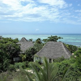 Shooting Star is located on the east coast of Zanzibar...