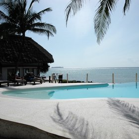 Matemwe Lodge is a high quality beach hotel in a beautiful location.