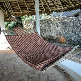 ... complete with a comfy hammock, a great spot to relax and take in the ocean views.